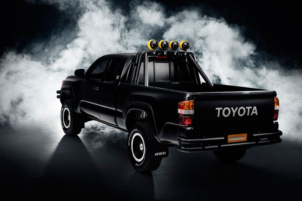 Toyota celebrating the Back to Future day with two new versions of the 2016 Toyota Tacoma and the 20