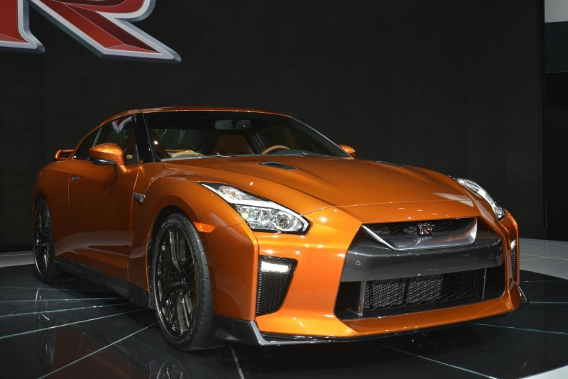 The new 2017 Nissan GTR unveiled at the 2016 New York auto show