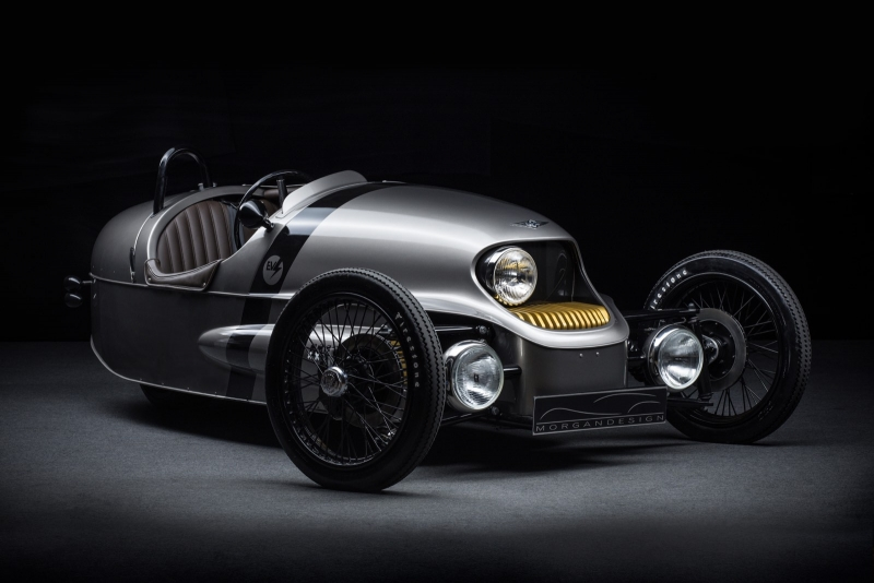 The Morgan EV3 electric car - a mixture of old-world styling with modern technology