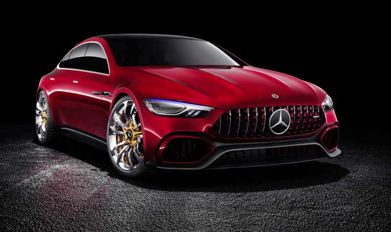 The 2017 Mercedes AMG GT Four-Door Concept