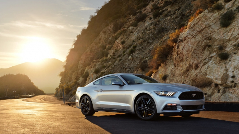 A real Ford Mustang to have a four-cylinder engine?