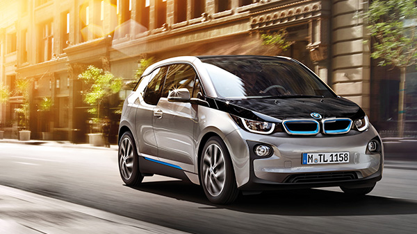 BMW i3 - the official car of London Fashion Week