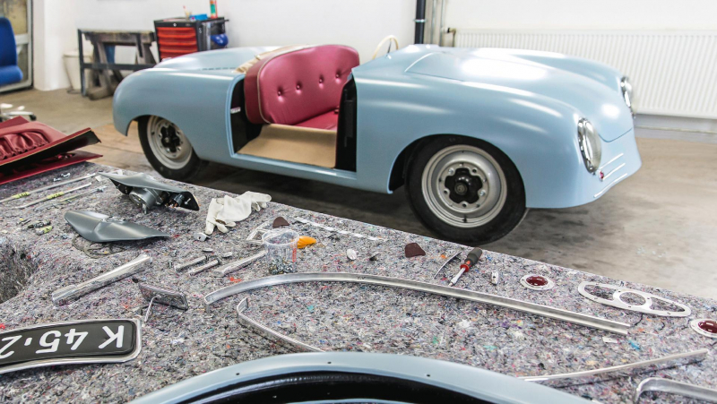 Porsche Built a Replica Of Its First Car, 356 Number One