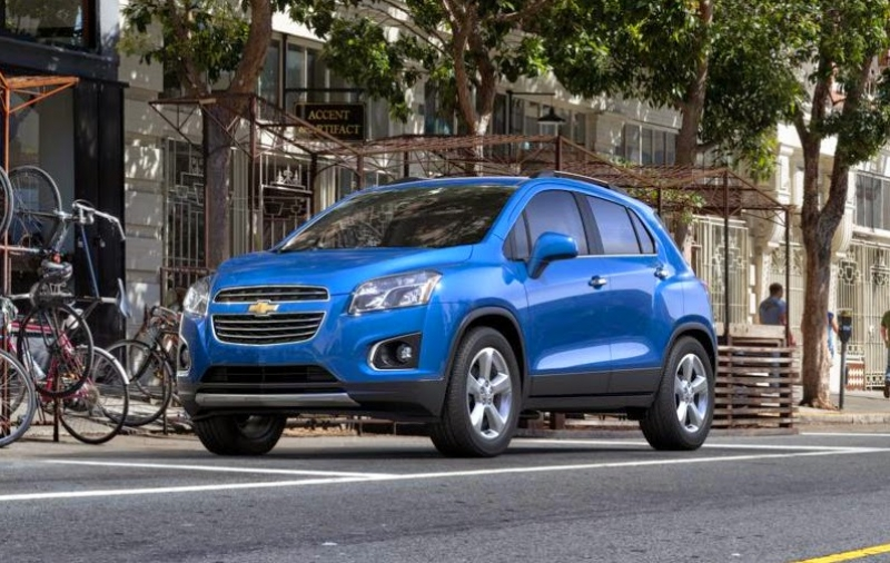 The refreshed Chevy Trax and its first drive
