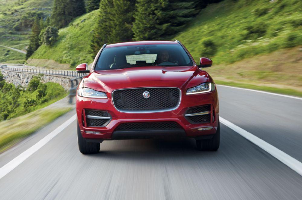 The new 2017 Jaguar F-Pace may shake the import SUV field