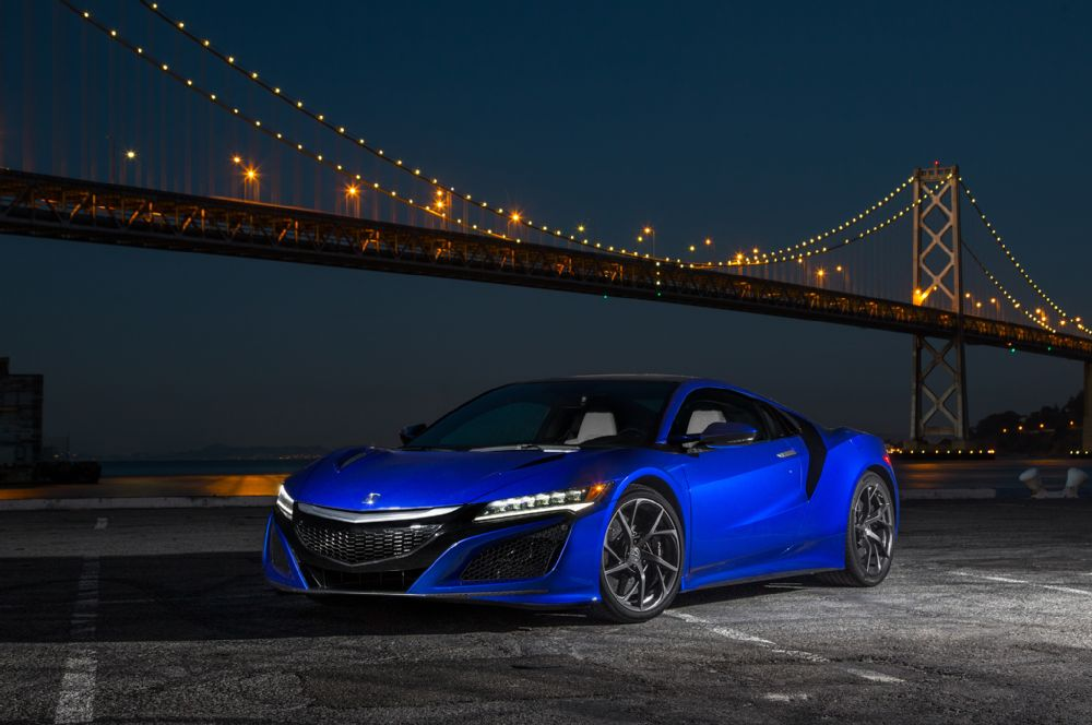 Can the 2017 Acura NSX be considered an American car?