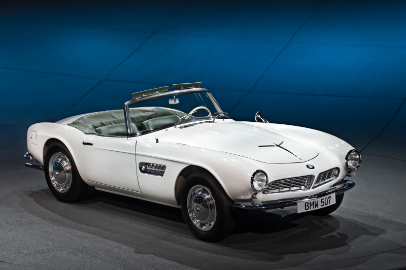 The legendary BMW 507 Elvis has already been restored!