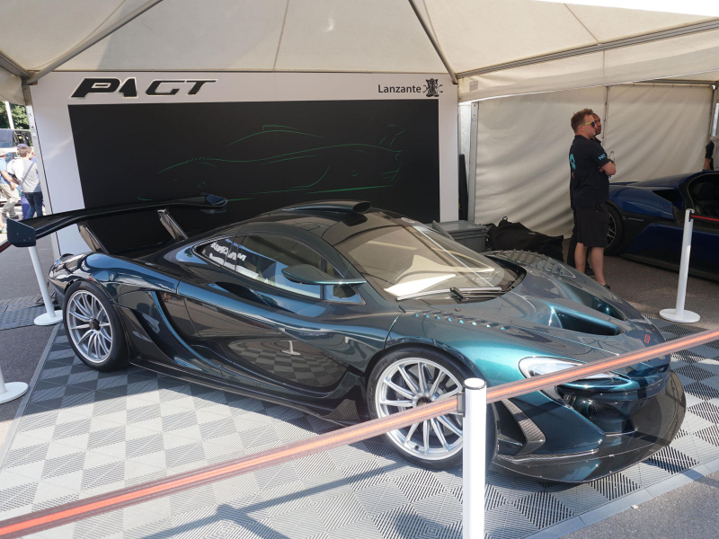 Longtail Name Revived On New Lanzante P1 GT, And It Is Awesome