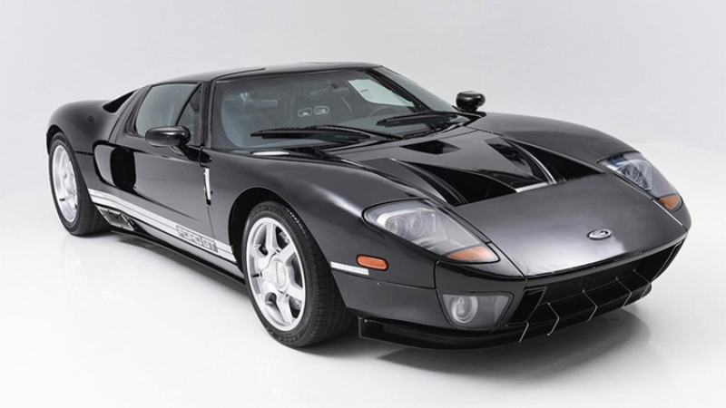 The 2004 Ford GT CP-1 up for auction this month!