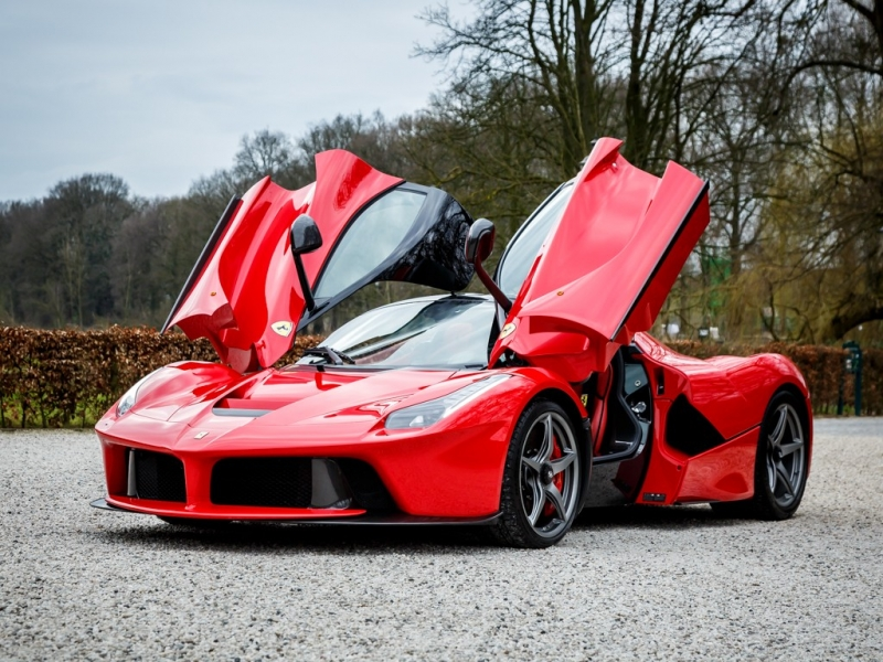 A strikingly classy Ferrari La Ferrari for sale in Netherlands
