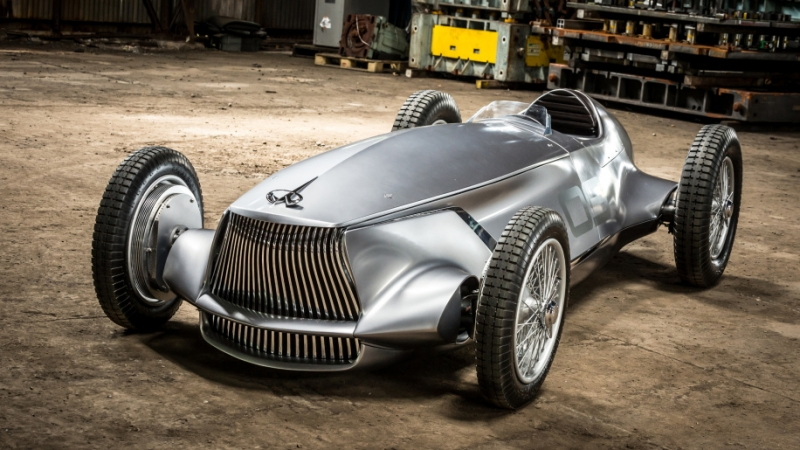 Infiniti Prototype 9: a beautiful EV grand prix car