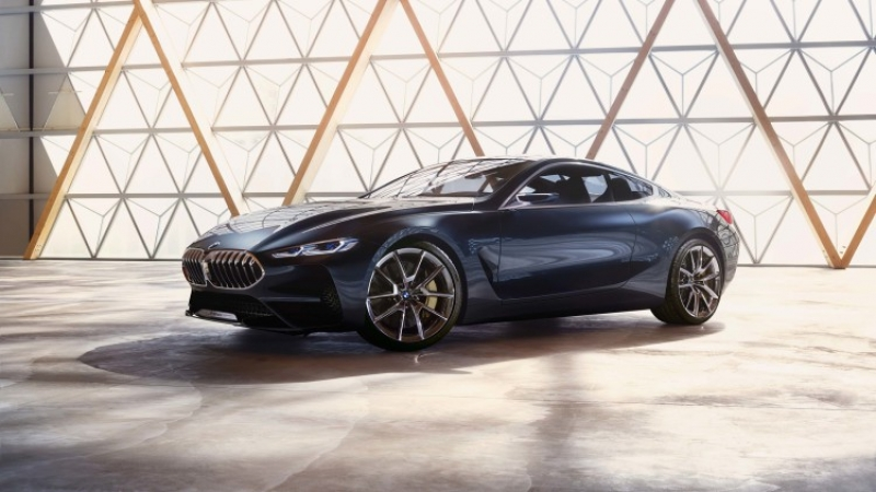 BMW 8 Series concept previews next great luxury coupe
