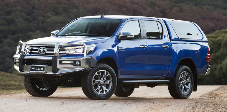 More accessories for the new 2016 Toyota HiLux