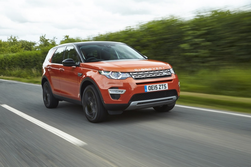 The 2016 Land Rover Discovery Sport is not afraid of mud, ruts, sand or snow