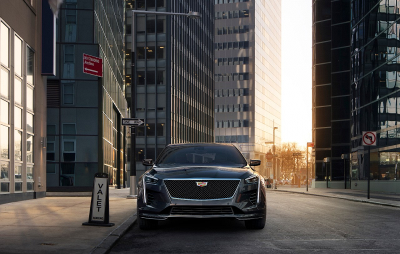 The 2019 Cadillac CT6 V-Sport Announced