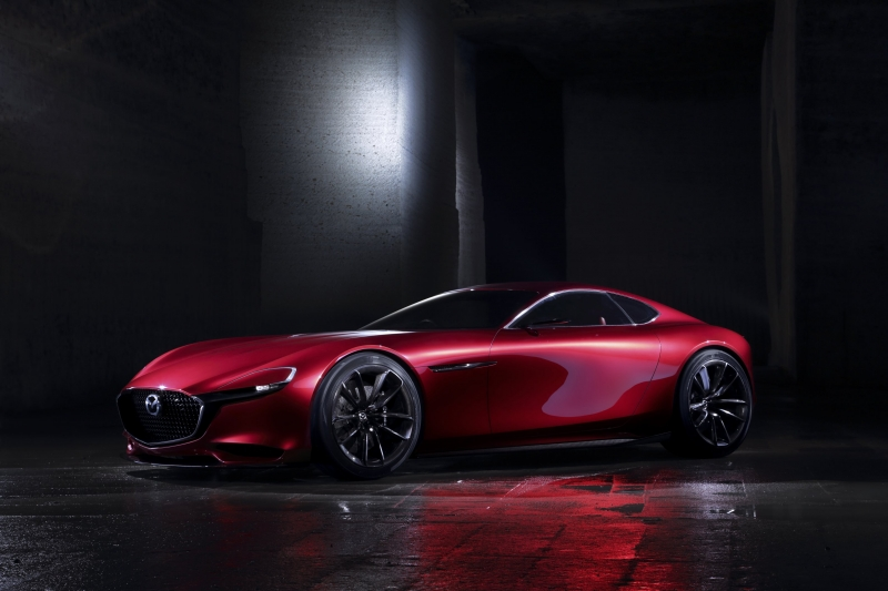 Mazda builds its next Rotary Sports Car