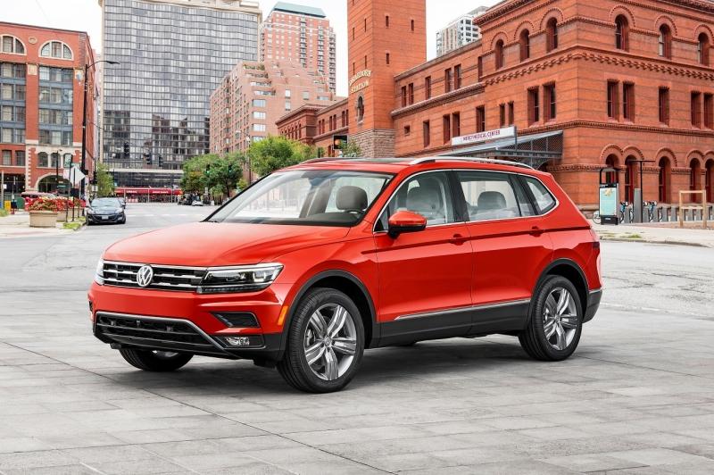 Volkswagen is launching its new Volkswagen Tiguan in America