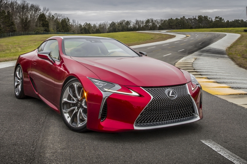 The new Lexus LC 500 Deluxe Coupe priced at $92,000