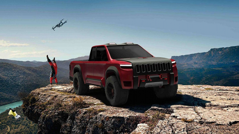 Jeep Crusader Rendering Looks Even More Rugged Than Wrangler