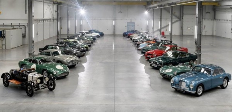 The new Aston Martin Plant Celebrated With Models Worth $83.4 million