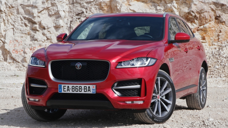 Jaguar F-Pace First Look!