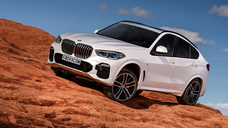 BMW X6 Rendering Is Hardly Surprising
