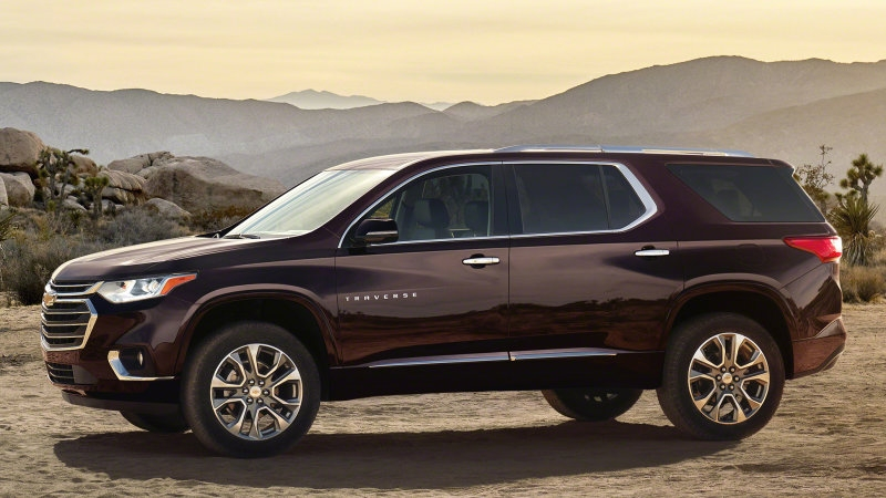2018 Chevy Traverse growing from midsize to fullsize