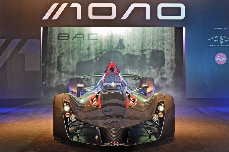 The new Mono British supercar was launched at Hong Kong