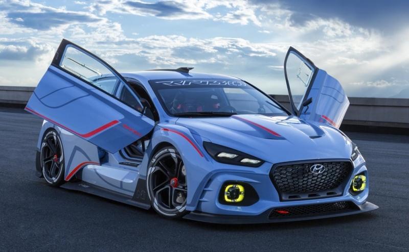 Hyundai RN30 Concept- the car that has it all!