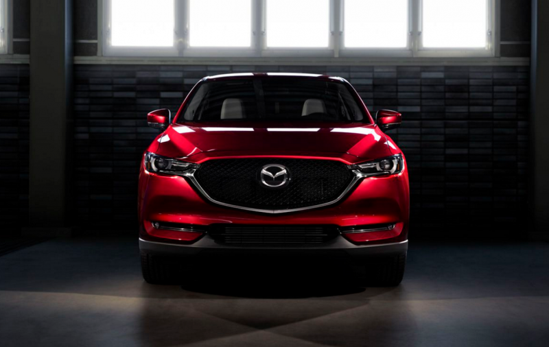 The 2017 Mazda CX-5 debuts with its stunning Crystal Red color