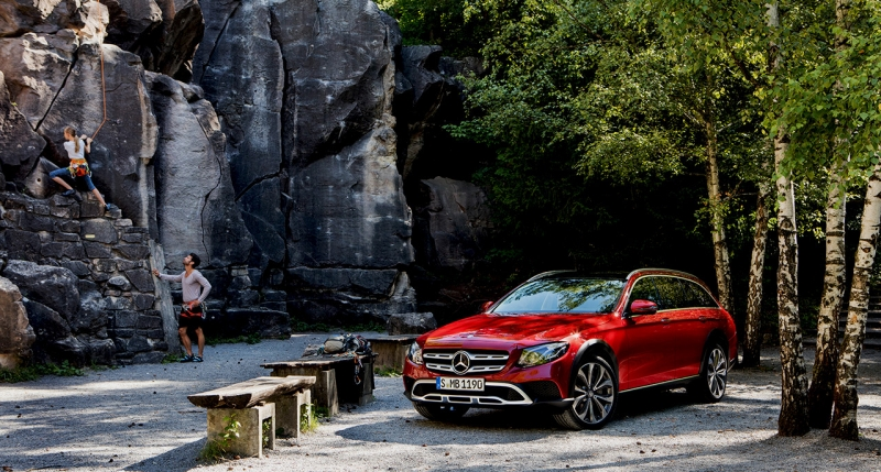 Mercedes E-Class All-Terrain is ready for adventures