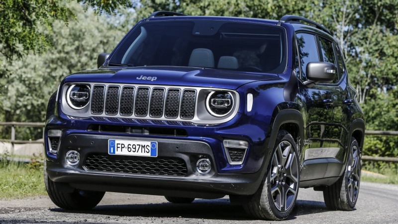 2019 Jeep Renegade Revealed With Subtle Facelift