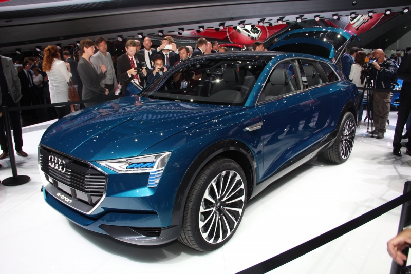 The 2019 Audi Q6 e-tron is going to be produced at the Brussels plant