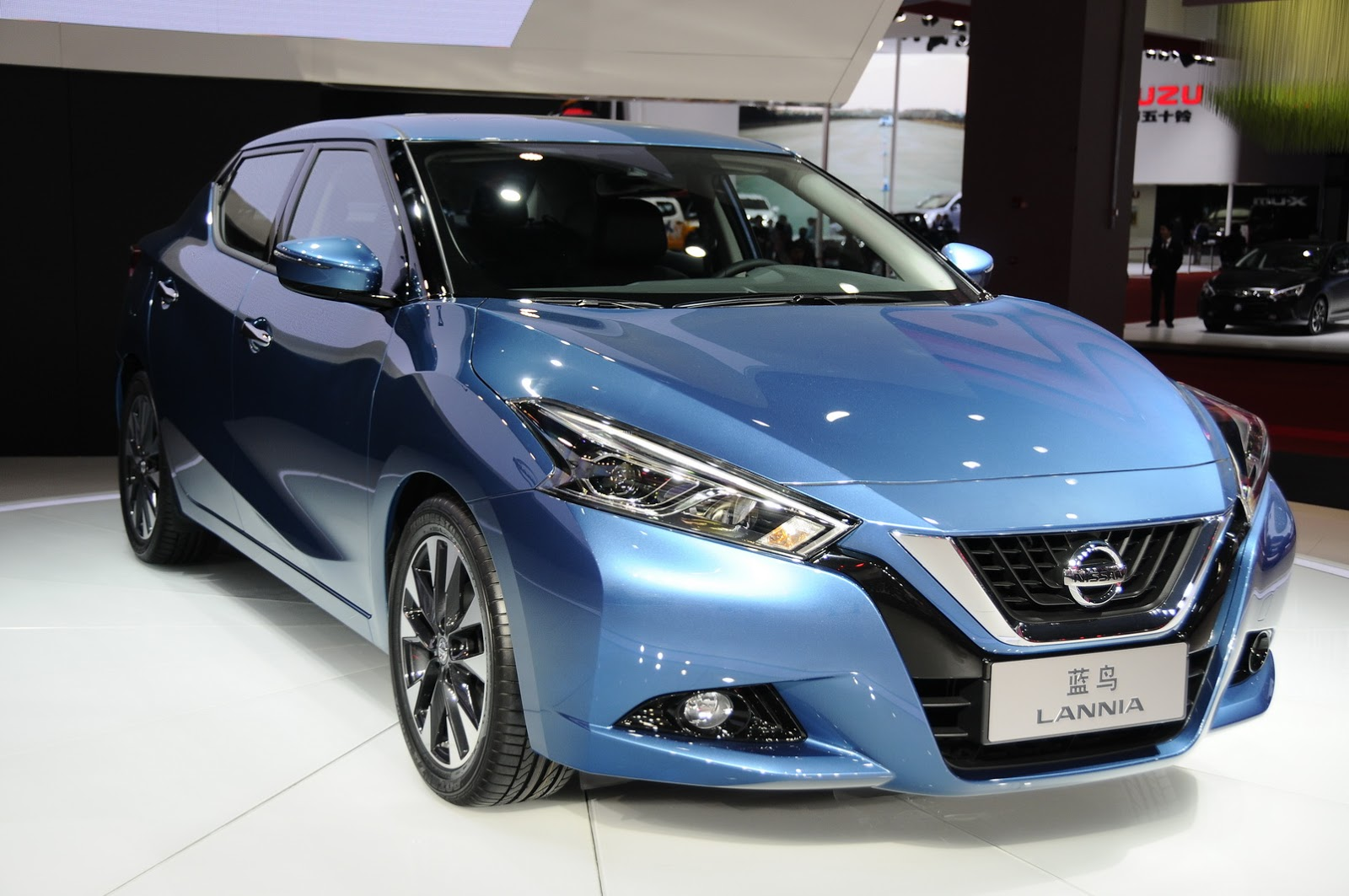 Nissan started selling its strange sedan