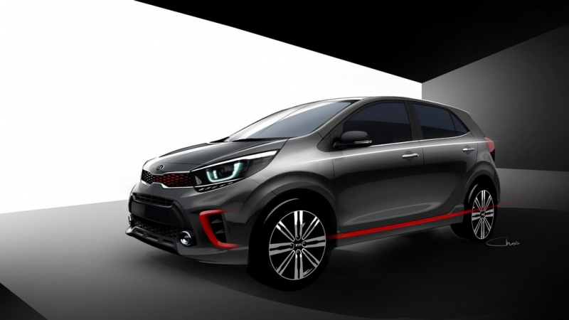 Picanto is the first Kia city car to debut in 2017