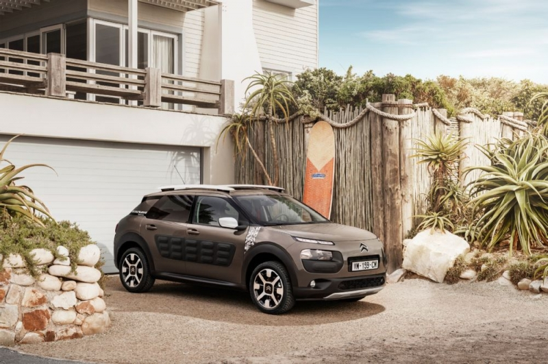 The new Citroen C4 Cactus Rip Curl for those preferring weird cars