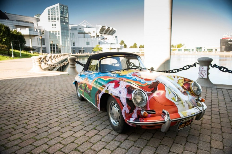 A special Porsche 356 was sold at auction for a fabulous price of $1.76 million