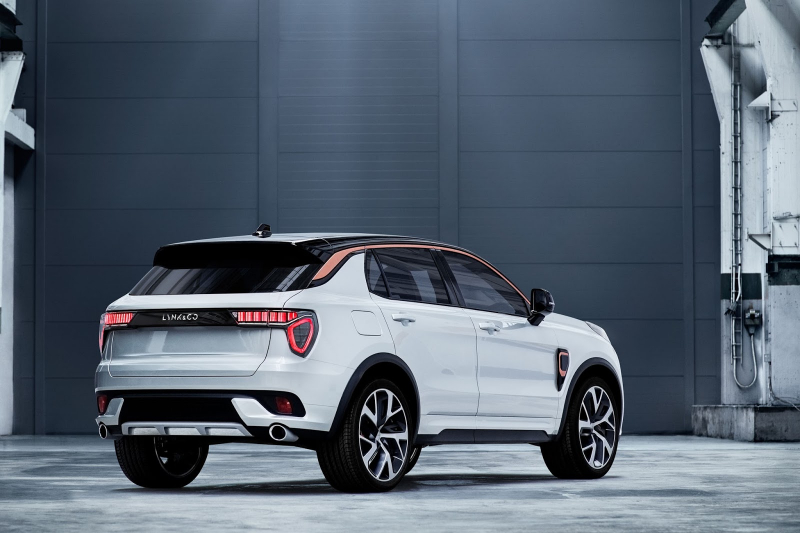 Crossover Lynk & Co 02 officially revealed