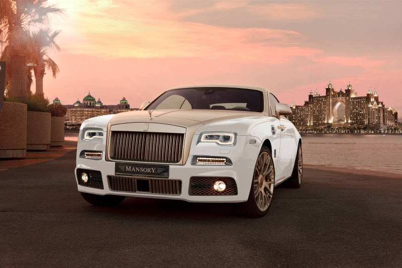 The tuned Mansory Rolls-Royce Wraith Palm Edition 999 smites with luxury