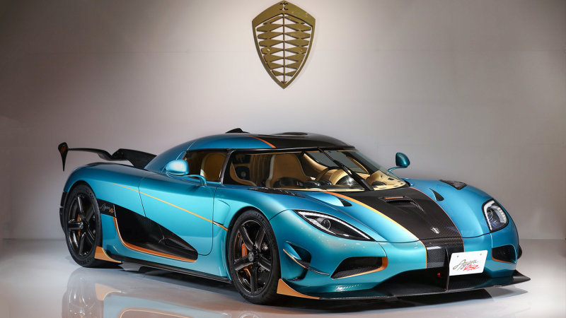 3 amazing Koenigsegg Agera RSR models, for 3 special customers