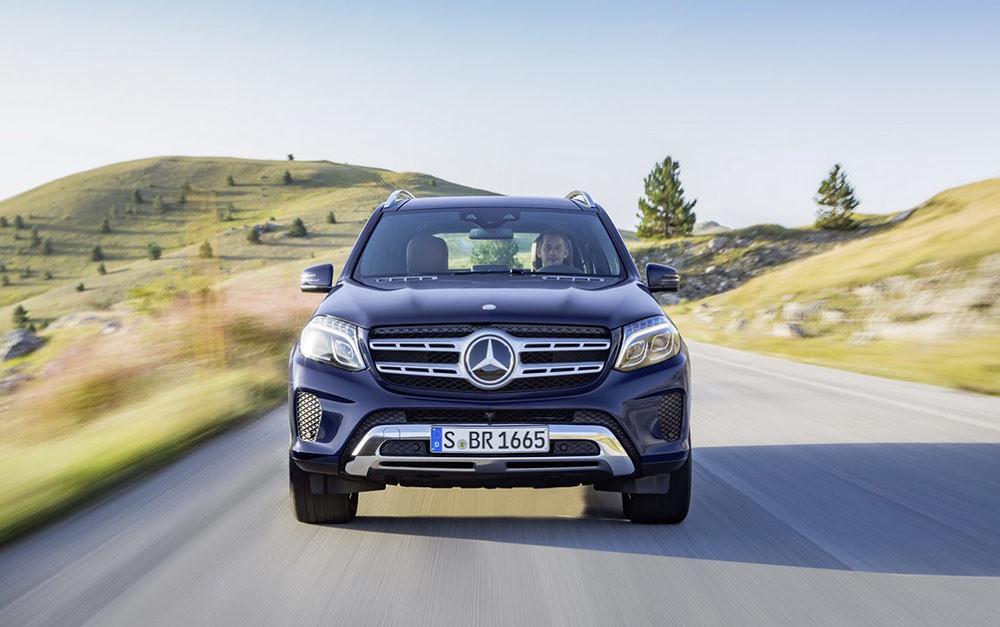 Mercedes revealed new SUV GLS