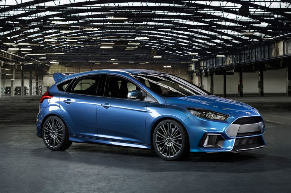 The 2016 Ford Focus RS ads performance potential