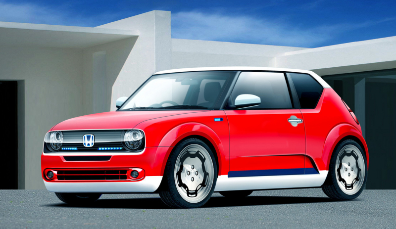 Honda Urban EV Looks Even Cuter in Production Sheet Metal