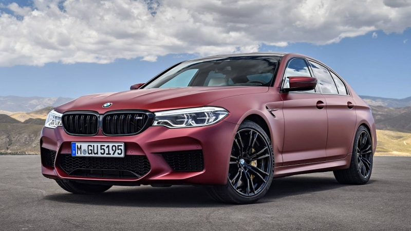 Meet and greet the 2018 BMW M5 with its 600 horsepower