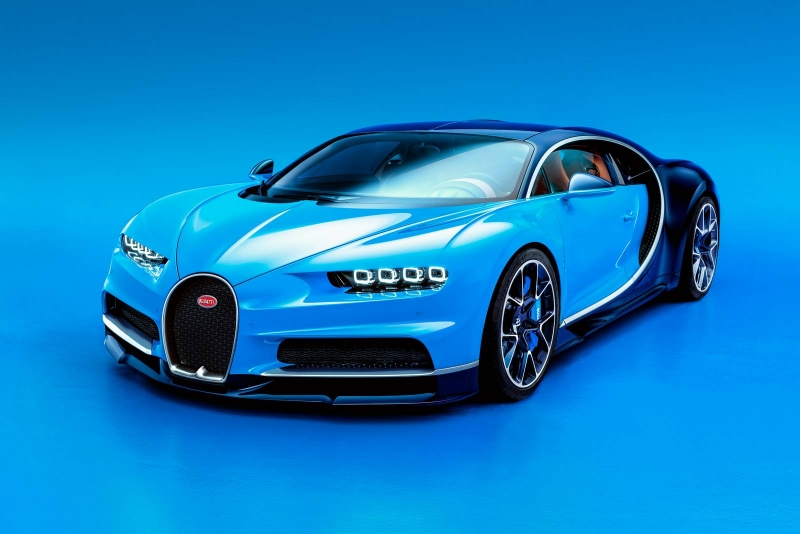 The fastest hypercar on the market - Bugatti Chiron- to be released at the Geneva Motor Show