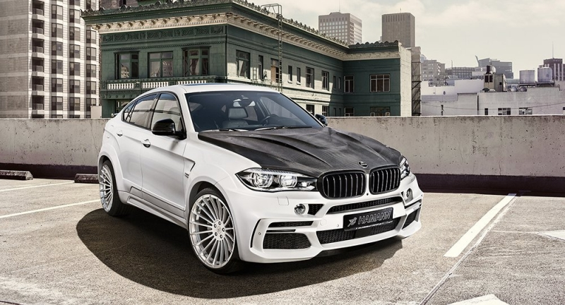A more distinctive look for the BMW X6 M50d with the Hamann customization package