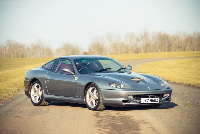 Ferrari 550 Maranello WSR the super rare classy up for auction