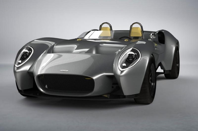 Jannarelly Design-1 - a new roadster from a new company
