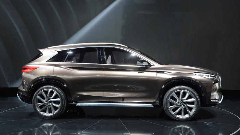 The elegant Infiniti QX50 Concept debuts with a revolutionary engine