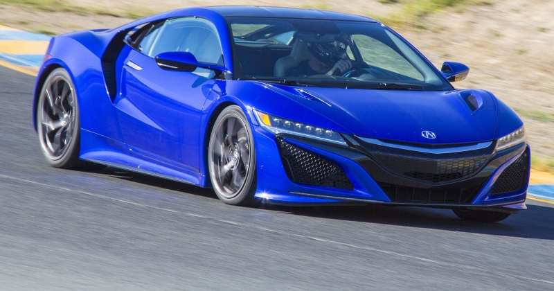 Honda's Acura NSX building in Ohio!